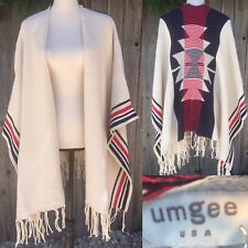 Umgee Sweater Poncho S M L Aztec Southwestern New Western Boutique Free Ship