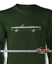 1969 Plymouth Road Runner Convertible Long Sleeves T-Shirt  Multi Colors & Sizes