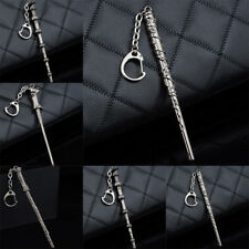 Harry Potter Keyring Hermione Dumbledore Lord Voldemort Magic Wand Keychain New