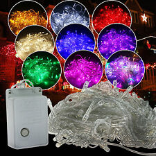 100/200/300/400/600 LED Christmas Xmas Party Indoor Outdoor Fairy String Lights