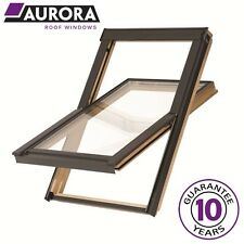 Aurora Roof Window Package Pine (VELUX & Keylite style) Inc Flashing & Blind