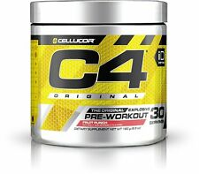 Cellucor C4 Gen 4 Pre Workout Powder 30 Servings (All Flavors) Creatine Caffeine