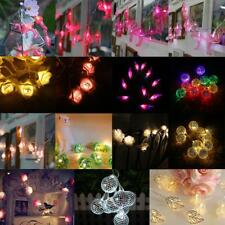 LED Fairy String Light Battery Operated Lamp Xmas Party Wedding Garden Lights