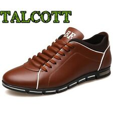 TALCOTT Luxury Brand Men Shoes England Trend Casual Leisure Shoes Leather Shoes