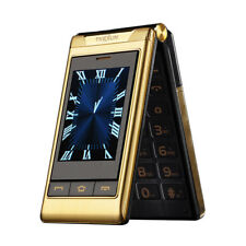TKEXUN G10 Unlocked Flip touch screen Dual SIM Dual Band Mobile Phone OLD Mens