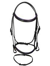 New Competition Showing Bridle and Reins Set Horse Equestrian Cob Pony Colours