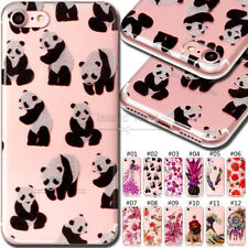 For Apple iPhone 7 Silicone Soft Cover Shockproof Back TPU Protective Case Skin