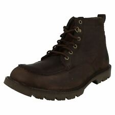 Mens Caterpillar Lace Up Leather Boots 'Jerome' ~ K