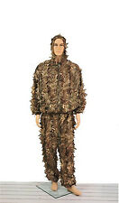 Ghillie Suit Hunting Sniper Woodland Paintball Camo Lightweight Elastic Waist