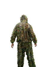 Bionic Ghillie Suit Hunting Clothes Maple Leaf Sniper Birdwatch Jacket Pants Set