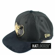 New Era - Memphis Grizzlies On-Court Black Gold Snapback