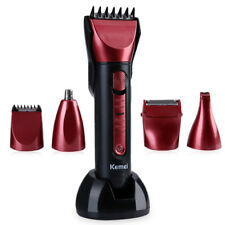 Washable Multi-functional Electric Hair Clipper Shaver with Scissors Comb Awls