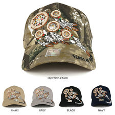 Native Pride Dream Catchers 3D Embroidered Structured Baseball Cap - FREE SHIP
