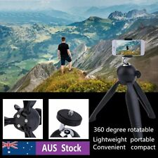 Mini Tripod with Holder Mount Selfie Portable Camera Tabletop Tripod for Phone H