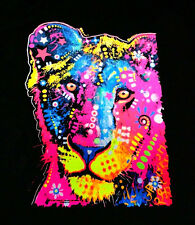 Young Lion Cub King Of The Jungle Art Bright Colors Animal T-Shirt Tee