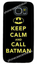 BATMAN KEEP CALM PHONE CASE FOR SAMSUNG NOTE & GALAXY S3 S4 S5 S6 S7 EDGE S8