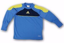 adidas Goalkeeper Jersey Traversa 11 Infant Size Blue/Yellow Padded Sleeves