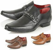Mens Italian Leather Formal Office Party Casual Party Dress Shoes Size 7 - 12