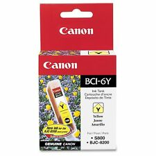 Canon BCI-6Y Original Ink Cartridge - Inkjet - 370 Pages - Yellow - 1 Each (4708