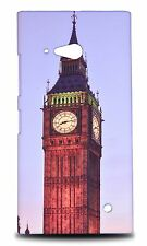 BIG BEN CLOCK TOWER #2 HARD CASE COVER FOR NOKIA LUMIA 730 DUAL SIM