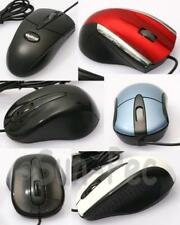 Ergonomic USB Optical Scroll Wheel Mice Mouse PC Laptop Notebook Various Colors