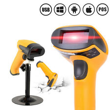 Automatic USB Laser Barcode Scanner Barcode Reader Stand Handheld POS Computers