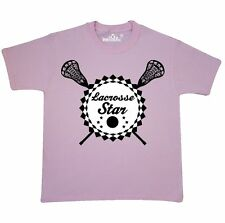 Inktastic Lacrosse Star Sports Gift Youth T-Shirt Sticks Hobbies Player Hobby