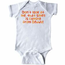 Inktastic Don't Look At Me Infant Creeper That Smell Daddy Funny Humor Monkey