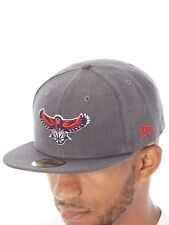 New Era Heather Grey NBA 59Fifty Fitted Cap