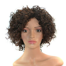 Full Afro Curly Short Kinky Curly Wig for Black Women Natural Costume Curly Wig