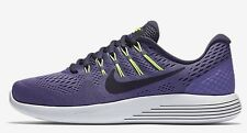 Nike LUNARGLIDE-8 WOMEN'S RUNNING SHOE Purple Earth/Volt-Size US 5,5.5, 6 Or 6.5