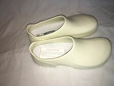 Birkenstock AlPro A640 Professional White Clogs Slip Resistant Outsoles