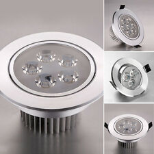 Aluminum Warm/Cool White LED Recessed Ceiling Downlight Spot Fixture Lamp Light