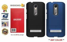 Seidio SURFACE Case (w Metal Kickstand) for the Motorola Droid Turbo 2 ANY COLOR