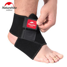 Elastic Ankle Brace Adjustable Support Foot Guard Games Black Sports Protector