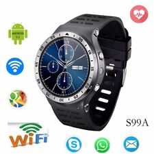 Lemfo S99A Bluetooth 3G GPS WiFi Smart Watch Pedometer For Samsung Android HTC