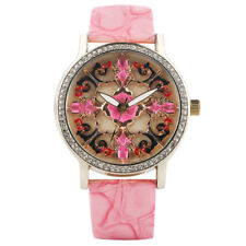 Novel Rhinestones Design Women Lady Girl Sport Quartz Wrist Watches Gift