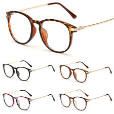 Unisex Women Mens Clear Lens Glasses  Retro Fashion Nerd Geek Eyewear Eyeglasses