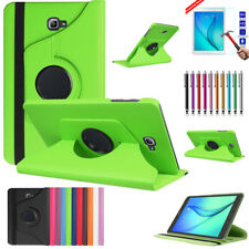 PU Leather Stand Case 360 Rotating + Screen Protect For GALAXY Tab A 10.1 P580 N