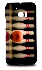 BOWLING BALL TEN PIN STRIKE HARD CASE COVER FOR HTC 10