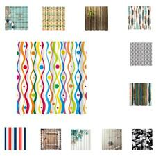 Various Natural Series 180x180cm Shower Curtain Bath Curtain with Several Hooks