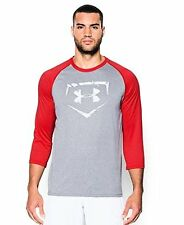 Under Armour Men's Baseball  Sleeve T-Shirt - Choose SZ/Color