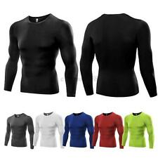 US Men Base Layer Tight Top Compression Under Shirt Sports Gym Quick-dry T-Shirt