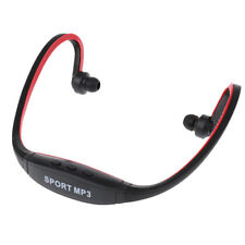 Sport MP3 Headset Music Player TF/ Micro SD Card Slot Wireless Headphone &FM