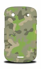 GREEN CAMO CAMOUFLAGE PATTERN HARD CASE COVER FOR BLACKBERRY BOLD TOUCH 9900