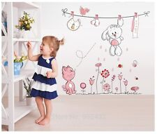 Wall Room Kids Sticker Decor Decal Removable Baby Nursery Vinyl Decals Home RL