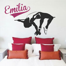 High Jump Wall Decal Sports Track And Field Gymnastics Kids Room Wall Decal, s83