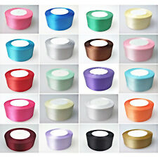 22m x 40mm Double Sided Satin Ribbons Full Roll Cake Decoration Crafts Project