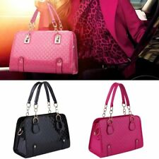 Women Girl Handbag Shoulder Bag Tote Purse PU Leather Messenger Hobo Zipper Bag