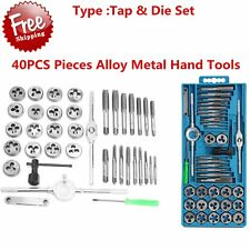 40 Pc METRIC Tap And Die Set Bolt Screw Extractor/Puller Kit New Removal EC